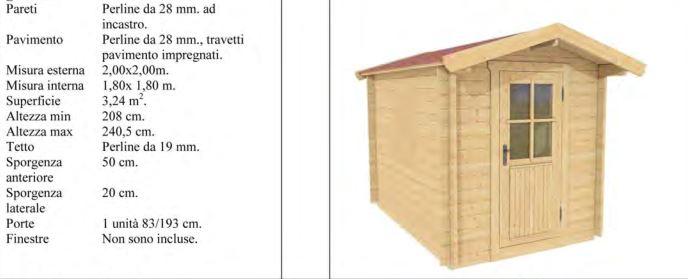 Casette incastro 28mm for Casette di legno del paese