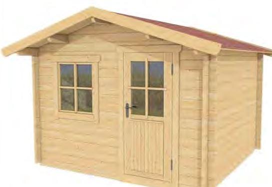 Casette da 6 a 10 mq for Casette di legno del paese