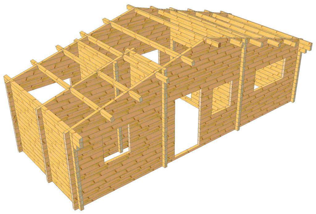 Casa mobile legno la mini casa mobile che non ha bisogno for Case modello artigiano