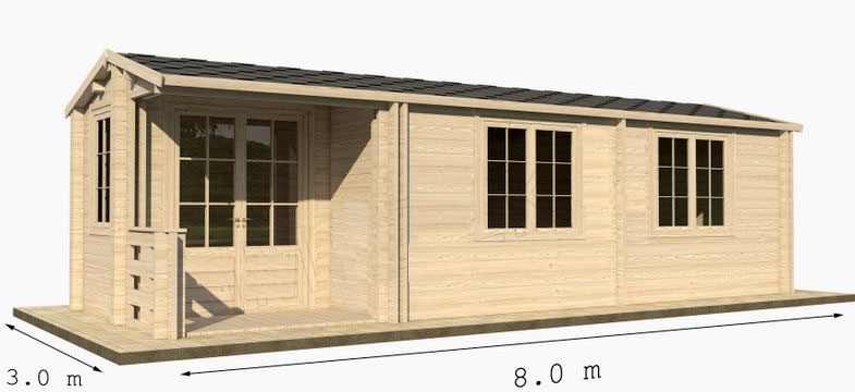 prezzi terrazze in legno x case mobili : Case mobili in legno