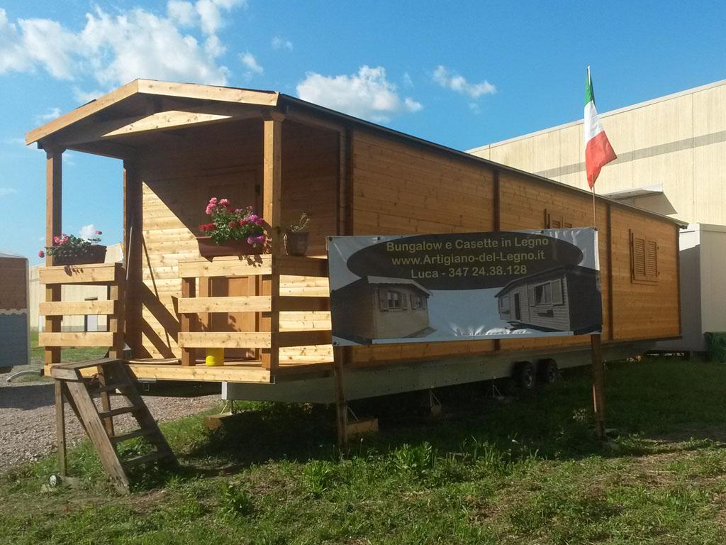 Casa mobile legno garden loft garden office casette da - Case in legno mobili ...