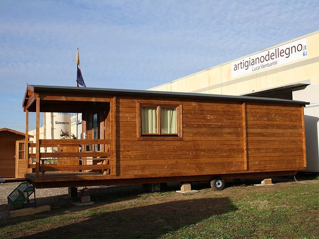 Artigiano del legno for Casa mobile in legno